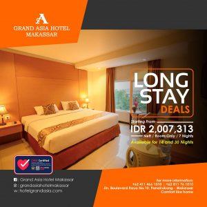 Long Stay Deals Hotel Grand Asia Makassar