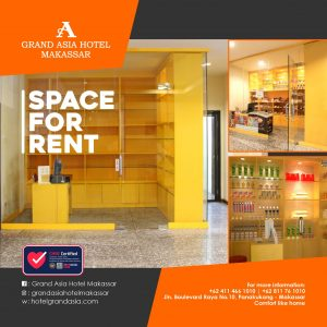 Space For Rent Hotel Grand Asia Makassar
